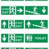 bảng đèn exit thoát hiểm Kentom