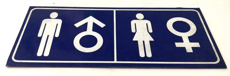 bảng phân biệt nhà vệ sinh nam nữ