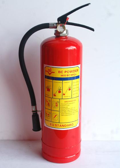 bình chữa cháy 4kg bột bc MFZ4