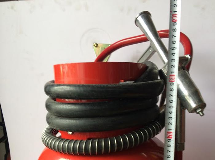 kích thước chiều cao bình chữa cháy bột 35kg BC MFTZ35