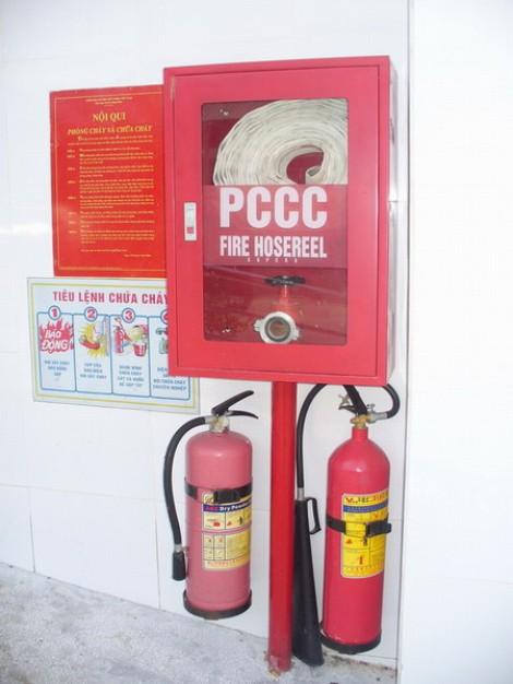 Hộp tủ chữa cháy trong nhà