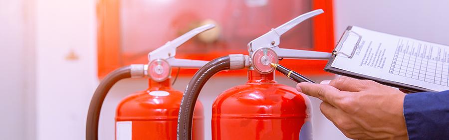 Kiểm tra bình chữa cháy thường xuyên