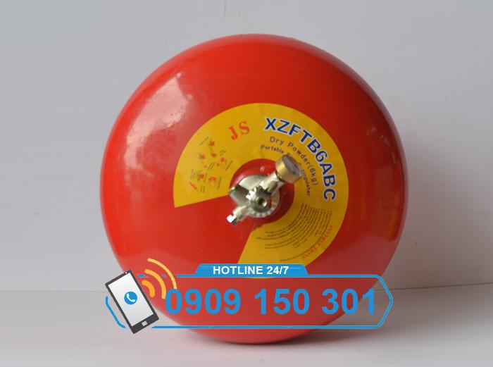 Quả cầu chữa cháy tự động 6kg bột ABC XZFTBL-6