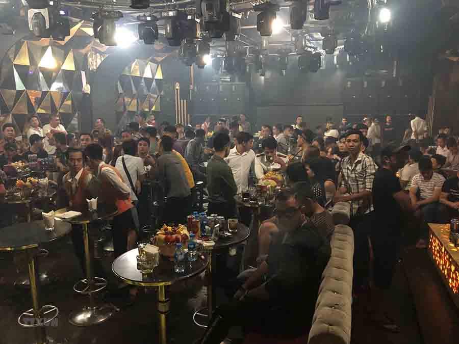 nguy cơ cháy nổ cao từ các quán bar