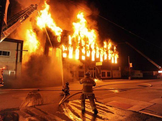phòng chống hỏa hoạn trong gia đình