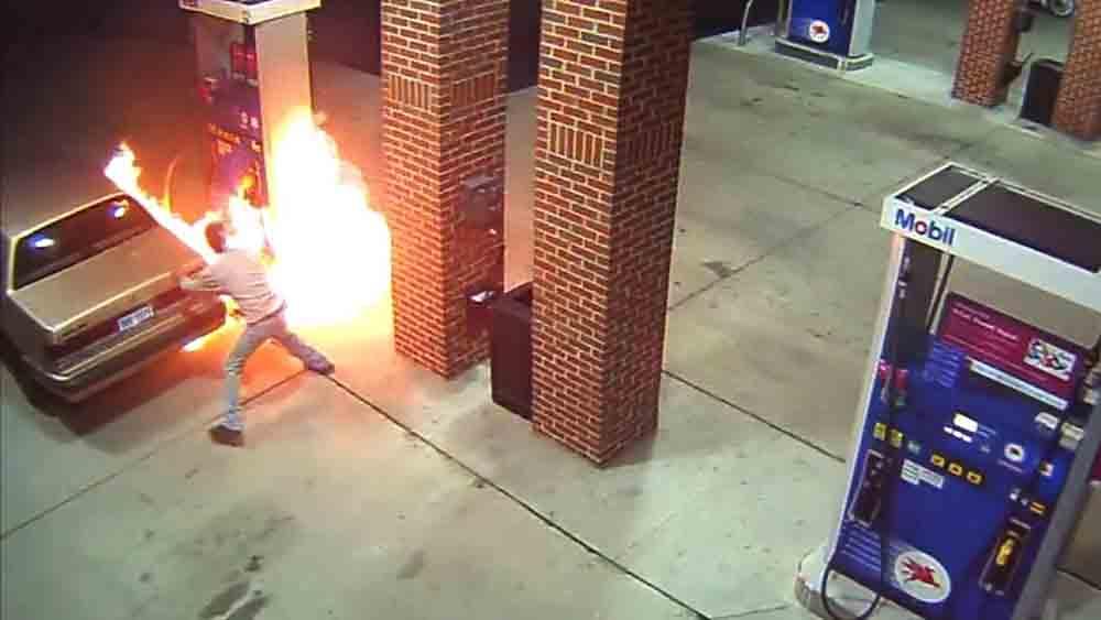 sự cố gây cháy nổ tại cây xăng