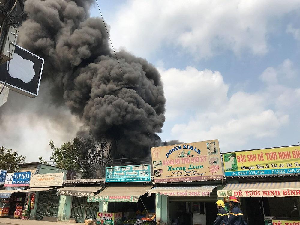 sự cố cháy nổ