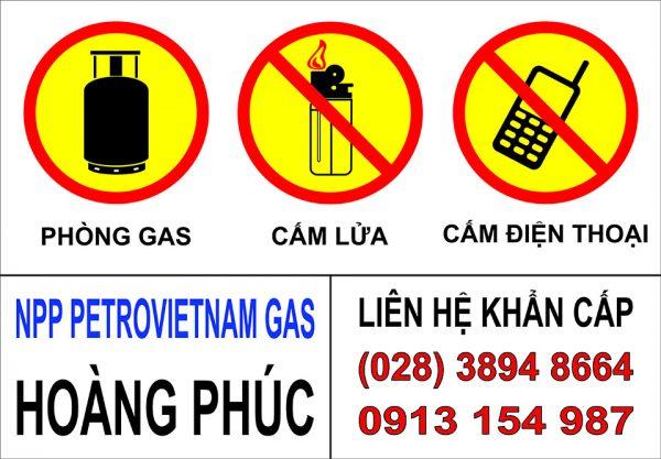 Bảng báo an toàn phòng gas