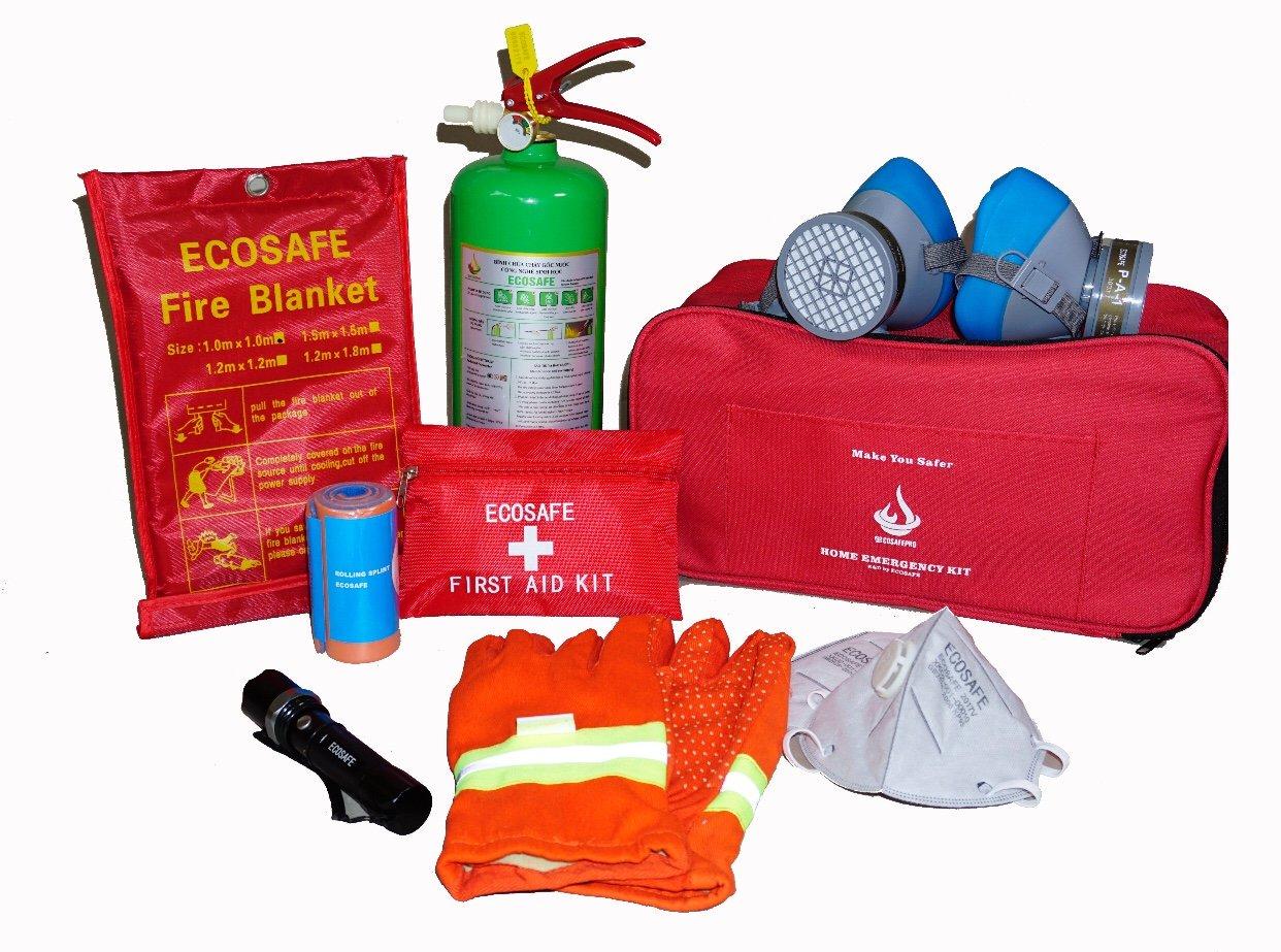 Bộ dụng cụ bảo hộ PCCC cho gia đình Ecosafe Pro