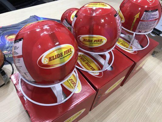 3 mẫu bóng ném chữa cháy an toàn hiệu quả cao